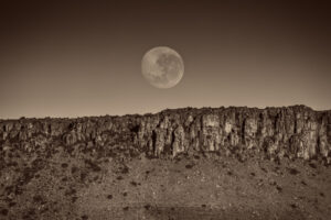 Full Moon, Karoo National Park, South Africa